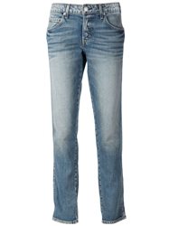 Amo Slim Fit Boyfriend Jeans Blue