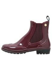 Trussardi Jeans Wellies Bordeaux