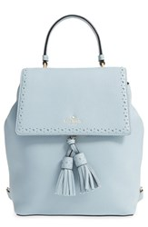 Kate Spade New York 'James Street Teba' Leather Backpack Blue Lakes Edge
