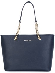 Michael Michael Kors Shopper Tote Blue