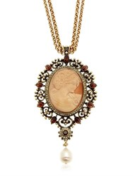 Alcozer And J. Cameo Necklace