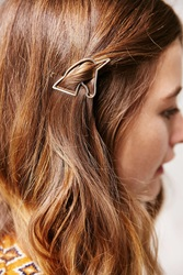 Urban Outfitters Unicorn Hair Clip Gold