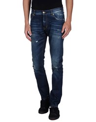 Messagerie Denim Denim Trousers Men Blue
