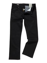 Linea Max Coated Indigo Straight Fit Jeans Denim Dark Indigo