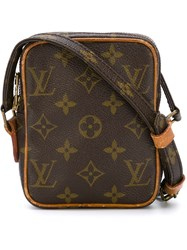 Louis Vuitton Vintage Monogram Messenger Bag Brown