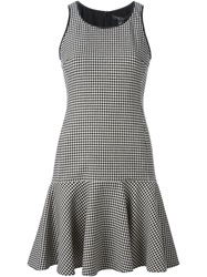 Ralph Lauren Black Label Ralph Lauren Black Houndstooth Print Dress