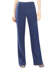 Bcbgmaxazria Simon Wide Leg Dress Pants Dark Navy