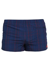 Adidas Performance Swimming Shorts Blue Red