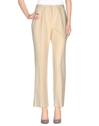 Paolo Pecora Trousers Casual Trousers Women Beige