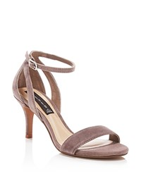 Steven By Steve Madden Valor Suede Dress High Heel Sandals Compare At 89 Taupe