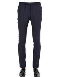 Incotex 18Cm Skinny 82 Stretch Wool Pants