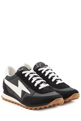 Marc Jacobs Leather And Suede Sneakers Multicolor