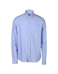 Lorenzini Long Sleeve Shirts Azure