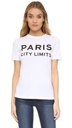 Etre Cecile Paris City Limits T Shirt White