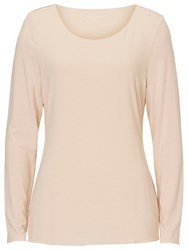 Betty And Co. Long Sleeved T Shirt Pastel Sand