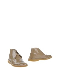 Segni And Sensi Ankle Boots Beige