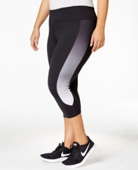 Ideology Plus Size Cropped Leggings Only At Macy's Deep Charcoal