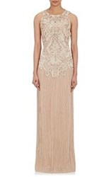 Alberta Ferretti Embellished Bodice Evening Gown Multi Size 46 It