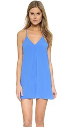 Alice Olivia Fierra Y Back Tank Dress Cornflower Blue