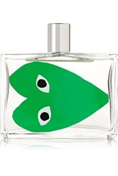 Comme Des Garcons Parfums Eau De Toilette Play Green Colorless
