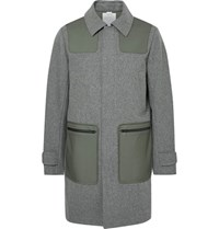 Under Armour Sportswear Fieldhoue Hell Panelled Wool Coat Gray