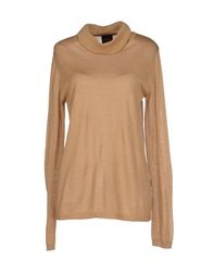 Selected Femme Turtlenecks Camel
