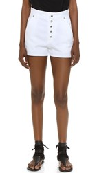 Rag And Bone Branson Shorts White
