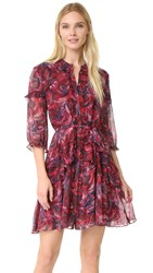 Saloni Tilly Ruffle Dress Crest