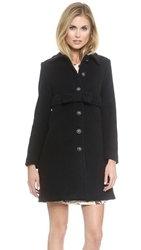 Paul And Joe Sister Kanoe Coat Black
