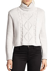 J Brand Maddie Turtleneck Sweater Concrete