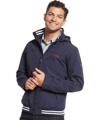 Tommy Hilfiger Big And Tall Regatta Jacket Sailor Navy