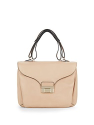 Valentino Leather Top Handle Bag