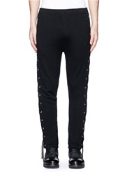 Faith Connexion Lace Up Jogging Pants Black