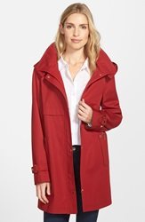 Gallery Snap Front A Line Raincoat With Detachable Hood And Liner Regular And Petite Online Only Russet