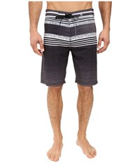 Hurley Phantom Ortega 21 Boardshorts Black Men's Swimwear