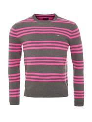 Eden Park Two Tone Cotton Sweater Grey