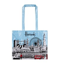 Harrods Bold London Shopper Bag Unisex