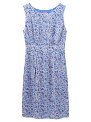 Joules Laura Dress Blue Ditsy