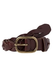 Gap Braided Belt Brown