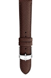 Women's Michele 16Mm Leather Watch Strap Brown Limited Edition