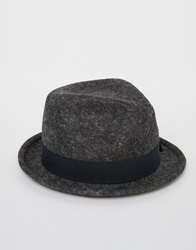 Catarzi Pork Pie Hat Grey