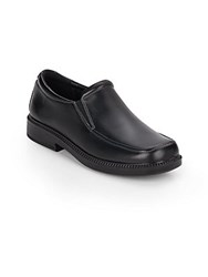 Eastland Boy's Leather Slip On Loafers Black