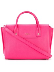 Furla Large 'Linda Carryall' Tote Pink Purple