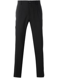 Dolce And Gabbana Tapered Trousers Black