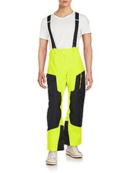 Spyder Swytch Tailored Pants Black Yellow