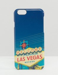 Signature Las Vegas Print Iphone 6 Cover Multi