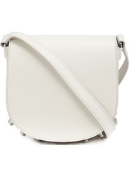 Alexander Wang Mini 'Lia Sling' Crossbody Bag White
