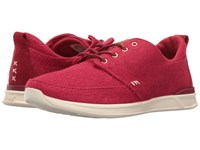 Reef Rover Low Tx Red Women's Lace Up Casual Shoes