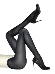 Wolford Satin Opaque 50 Denier Tights Navy