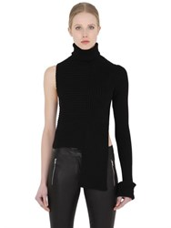 Alyx Asymmetrical Ribbed Turtleneck Sweater